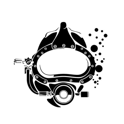 Sticker: Diving Mask