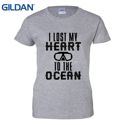 T-Shirt: Lost Heart To The Ocean