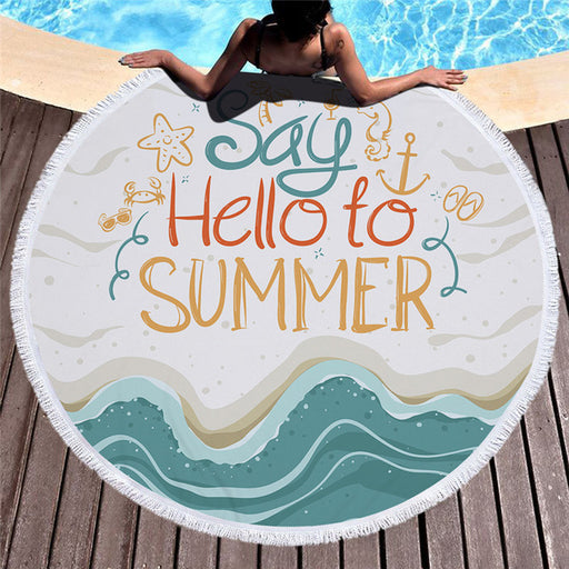 Towel: Say Hello to Summer