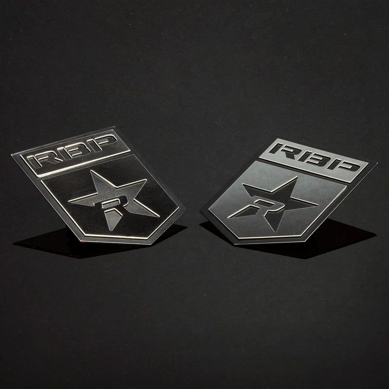 RBP Body Badges RBP-501SS