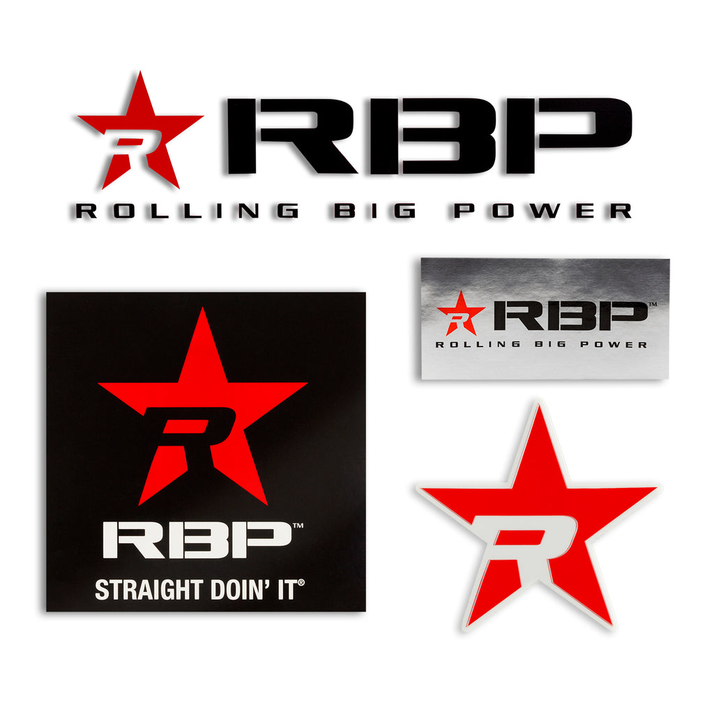 RBP Black Decal Pack