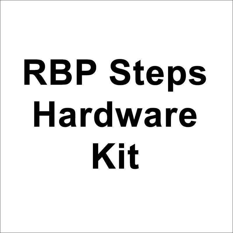 RBP Steps Hardware Kit RBP-605B-RX7-HW