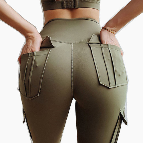 Workout Running High Waist Yoga Tighten abdomen Women's Pants Hip Lifting Tights