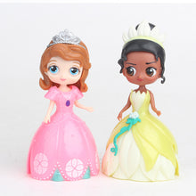 Load image into Gallery viewer, Anna Elsa Ornaments  Figure Model Doll Toys Child Gift Cute A set of 6 dolls+6 dresses