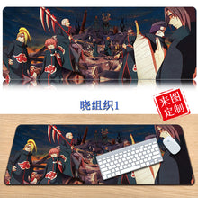 Load image into Gallery viewer, NARUTO Cosplay 3D Printing Mouse Pad Computer Desk Mat For Gaming Uzumaki Naruto