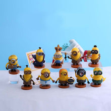 Load image into Gallery viewer, Minions Ornaments  Figure Model Doll Toys Child Gift Cute A set of 12 dolls cosplay