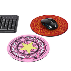 Card Captor cosplay 3D Printing Mouse Pad Computer Desk Mat For Gaming CERBERUS