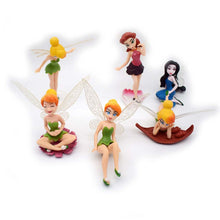 Load image into Gallery viewer, Tinker Bell Ornaments  Figure Model Doll Toys Child Gift Cute Set of 6 dolls