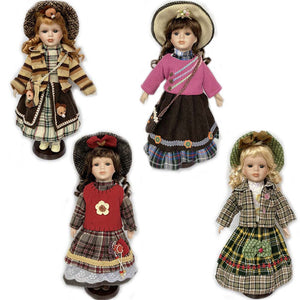 Handicrafts Ornaments  Figure Model Doll Toys Child Gift Cute Ceramic  princess