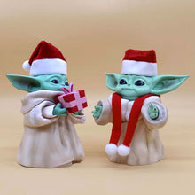 Load image into Gallery viewer, Yoda Baby Ornaments  Figure Model Doll Toys Child Gift Cute Grogu The Mandalorian