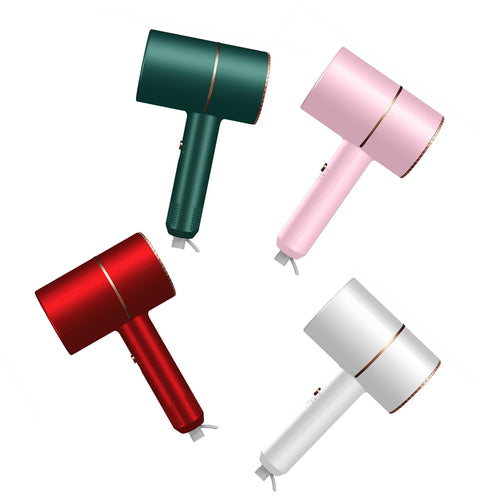 Pink Negative ion hair dryer Ornaments  Figure Model Doll Toys Child Gift Cute Blu-ray