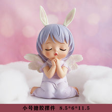 Load image into Gallery viewer, Wind chimes Deer Ornaments  Figure Model Doll Toys Child Gift Cute Grogu Unicorn