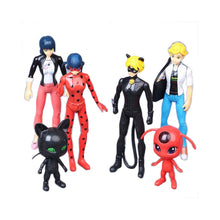 Load image into Gallery viewer, Miraculous: Tales of Ladybug Ornaments  Figure Model Doll Toys Child Gift Cute Grogu