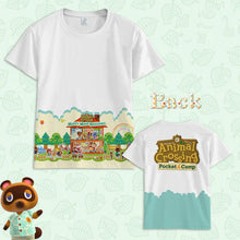 Load image into Gallery viewer, Animal Crossing:New Horizons Short Sleeve Cosplay Tom Nook T-shirt Cosplay Top Costume Timmy Tommy Prop - bfjcosplayer