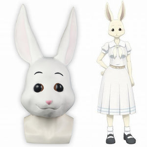 Anime BEASRARS Legosi The Rabbit Full Mask Cosplay Halloween Funny Mask - bfjcosplayer