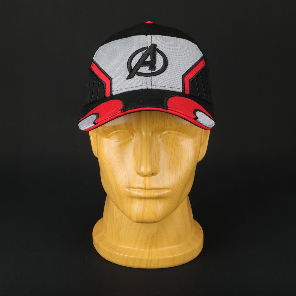 1733561636516 2019 Movie Avengers 4 Endgame Cosplay Hats Quantum Realm Embroidery  Adjustable Strapback Advanced Tech Baseball Caps