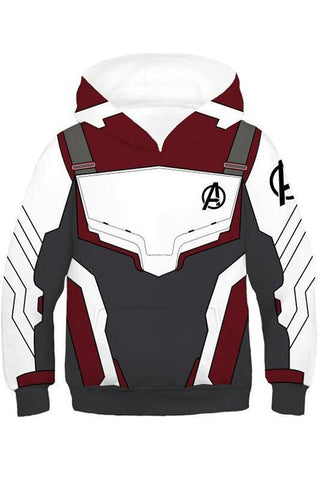 2019 New Hoodie Unisex Avengers 4 Endgame Quantum Realm Sweatshirt Jacket Advanced Tech Hoodie For Kids - bfjcosplayer