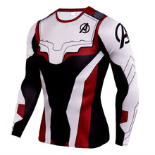 Load image into Gallery viewer, Avengers 4 Quantum Warrior 3d Digital Print Long Sleeve T-Shirt cosplay costume - bfjcosplayer