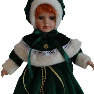 Christmas costumes Big skirt doll Europe Ornaments  Figure Model Doll Toys Child Gift Cute Princess