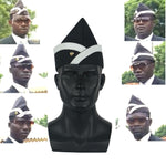 Cosplay Ghana Pallbearers Coffin Dance Black Cap Funeral Dancing Team Display Hat Funny Dressed Costume - bfjcosplayer