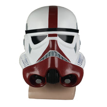 Load image into Gallery viewer, Cosplay Star Wars The Black Series Incinerator Stormtrooper Helmet PVC Mask Halloween Party Costume Prop - bfjcosplayer