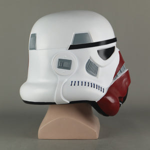 Cosplay Star Wars The Black Series Incinerator Stormtrooper Helmet PVC Mask Halloween Party Costume Prop - bfjcosplayer