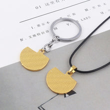 Load image into Gallery viewer, Death Stranding USA Map Keychain Game Cosplay Necklace Props - bfjcosplayer