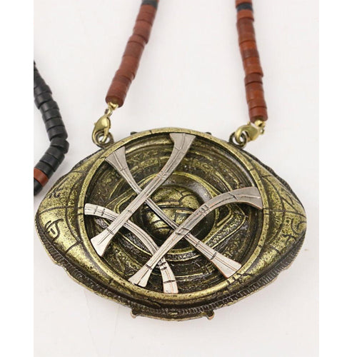 Doctor Strange Necklaces Steve Halloween Costume Alloy Necklaces  Prop