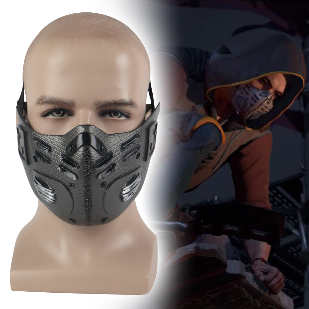 Dying Light 2 Cosplay Kyle Crane Aiden Face Mask Masquerade