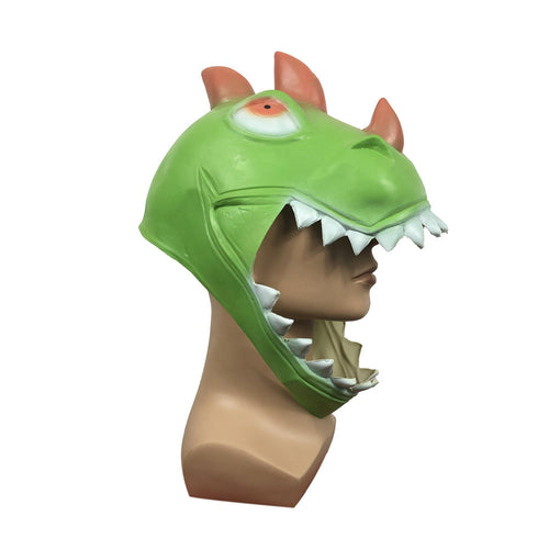 Fortnite Dinosaur Cosplay Helmet Adult Unisex Masquerade Halloween props - bfjcosplayer