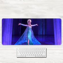 Load image into Gallery viewer, Frozen Cosplay 3D Printing Mouse Pad Office Props Gamer Elsa Anna