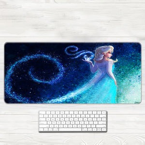 Frozen Cosplay 3D Printing Mouse Pad Office Props Gamer Elsa Anna