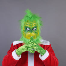 Load image into Gallery viewer, Christmas Adult Grinch Luxury Santa Costume with Mask cosplay suit - bfjcosplayer