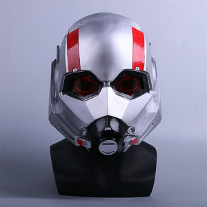 Ant-Man and the Wasp Mask Cosplay Antman 2 PVC LED Helmets Masks For Halloween Party Props - bfjcosplayer