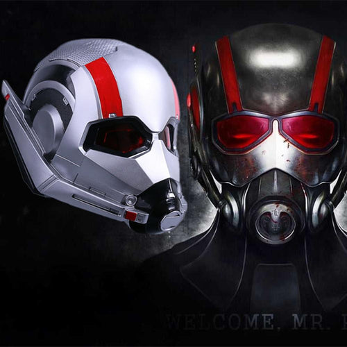 Ant-Man and the Wasp Cosplay Antman PVC LED Helmet Halloween Party Props - bfjcosplayer