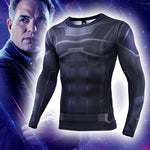 Load image into Gallery viewer, Avengers 4: endgame Hulk Clothes Marvel Long/Short Sleeve T-Shirt Tights - bfjcosplayer