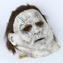 Load image into Gallery viewer, Michael Myers Cosplay Latex Helmet Horror Halloween Party Props - bfjcosplayer