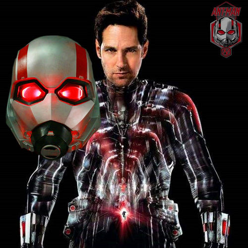 Ant-Man And The Wasp LED Helmet Ant-man Mask Battle Damage To Do The Old Version Cosplay Helmet Mask Props Halloween - bfjcosplayer