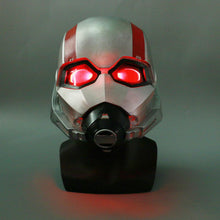 Load image into Gallery viewer, Ant-Man And The Wasp LED Helmet Ant-man Battle Damage To Do The Old Version Cosplay Props - bfjcosplayer