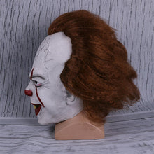 Load image into Gallery viewer, Stephen King's It Mask Pennywise Costume Joker Mask Tim Curry Horror Masks Cosplay Halloween - bfjcosplayer