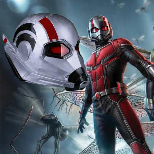 Ant-man 2:Ant-Man and the Wasp Cosplay Latex Helmet Halloween Party Props - bfjcosplayer