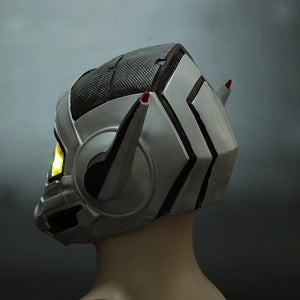 Ant-man 2:Ant-Man and the Wasp LED Cosplay Latex Helmet Halloween Props - bfjcosplayer