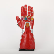 Load image into Gallery viewer, Avengers 4 Endgame Iron Man Arm Infinity Gauntlet Cosplay Gloves Led Light Superhero Gloves Party Props - bfjcosplayer