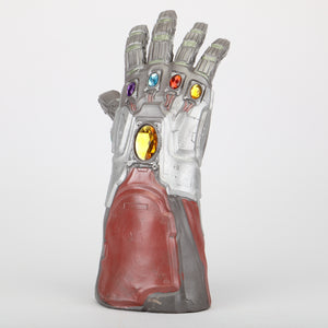 Avengers 4 Endgame Iron Man Infinity Gauntlet Hulk Cosplay Arm Thanos Latex Gloves Arms Mask Marvel Superhero Weapon Party Props - bfjcosplayer
