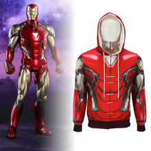Load image into Gallery viewer, Avengers 4: endgame Iron Man Mark 85 Cosplay 3D Anime Hoodie - bfjcosplayer