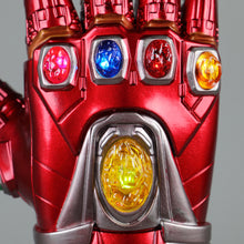 Load image into Gallery viewer, Avengers: Endgame Ironman Gauntlet Gloves Stone Movable Led Light Infinity War Glove Halloween props - bfjcosplayer