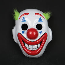Load image into Gallery viewer, 2019 Joker Pennywise Mask Stephen King Clown Cosplay Masks Green Hair Halloween Party Costume Prop - bfjcosplayer