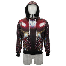 Load image into Gallery viewer, Avengers 4 New Iron Man's Battlesuit Sports Sweatshirt Pullover - bfjcosplayer