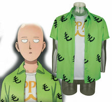 Load image into Gallery viewer, 2019 One Punch Man Saitama Mao Shirt Oppai Tee Outfit T-Shirts Cosplay Costume - bfjcosplayer