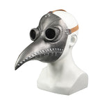 Plague Bird Doctor Cosplay Light gray Helmet soft PVC Halloween Party Porp - bfjcosplayer